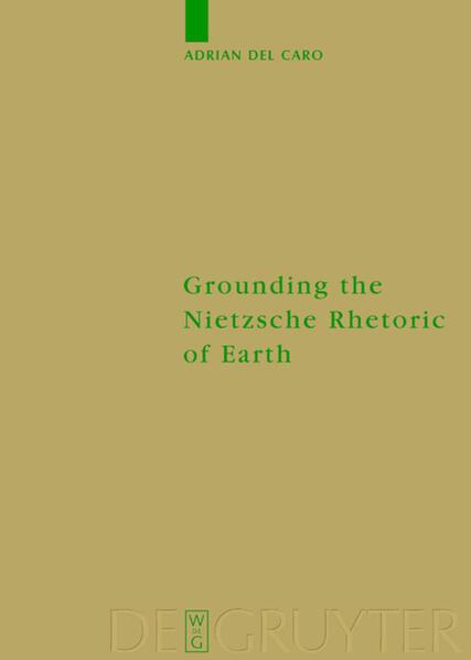 Grounding the Nietzsche Rhetoric of Earth als Buch
