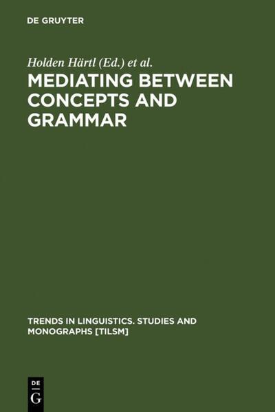 Mediating between Concepts and Grammar als Buch