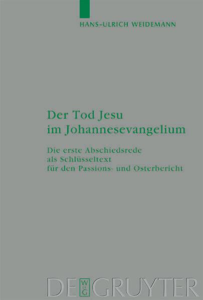 Der Tod Jesu im Johannesevangelium als Buch