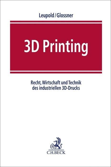 3D Printing als Buch von