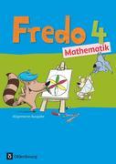 Fredo - Mathematik - Ausgabe A 4. Schuljahr für alle Bundesländer (außer Bayern)- Schülerbuch mit Kartonbeilagen