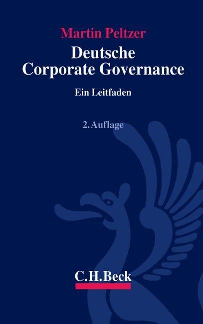 Deutsche Corporate Governance als Buch