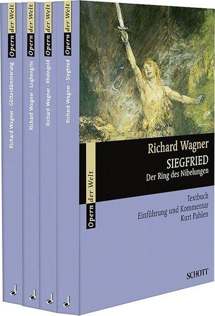 Der Ring des Nibelungen. 4 Bde als Taschenbuch
