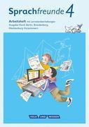Sprachfreunde 4. Schuljahr - Ausgabe Nord (Berlin, Brandenburg, Mecklenburg-Vorpommern) - Arbeitsheft Schulausgangsschrift