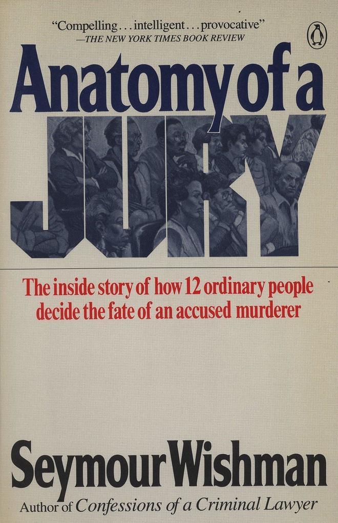 Anatomy of a Jury als Taschenbuch