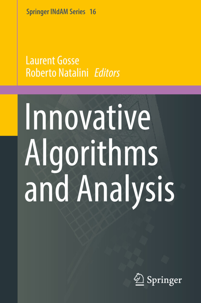 Innovative Algorithms and Analysis als Buch von