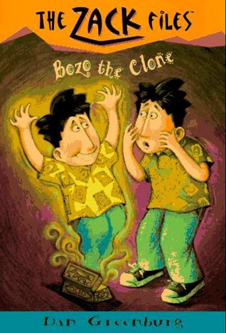 Zack Files 10: Bozo the Clone als Taschenbuch