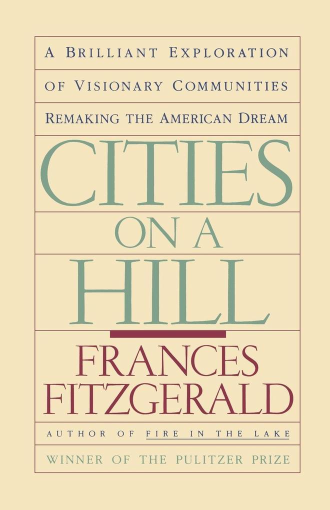 Cities on a Hill als Taschenbuch