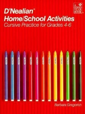 D'Nealian Handwriting Home/School Activities, Cursive Grades 4 Through 6 als Taschenbuch