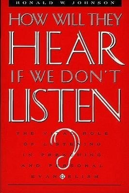 How Will They Hear If We Don't Listen? als Taschenbuch