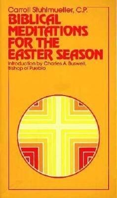 Biblical Meditations for the Easter Season als Taschenbuch