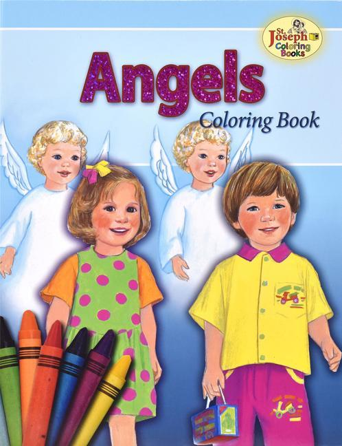 Coloring Book about the Angels als Taschenbuch