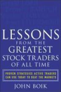 Lessons from the Greatest Stock Traders of All Time als Buch