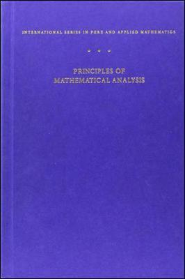 Principles of Mathematical Analysis als Buch