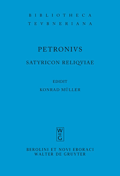 Satyricon reliquiae als Buch
