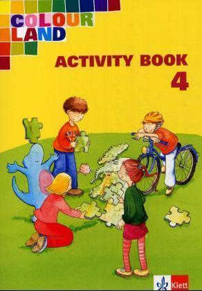 Colour Land. Für den Beginn ab Klasse 1. Activity Book mit Audio-CD. Ausgabe Baden-Württemberg. Klasse 4 als Buch