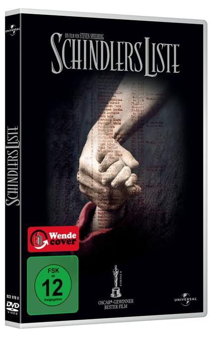 Schindlers Liste als DVD