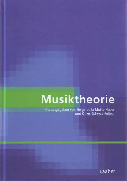 Musiktheorie als Buch