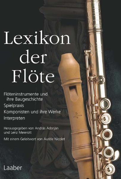 Lexikon der Flöte als Buch von