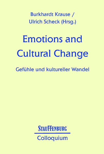 Emotions and Cultural Change als Buch