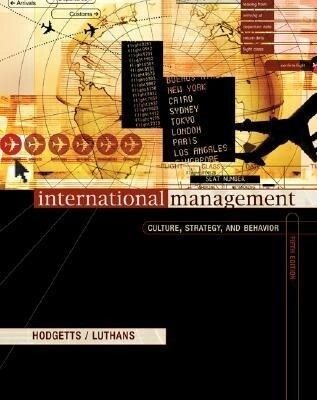 International Management: Culture, Strategy, and Behavior with World Map als Buch