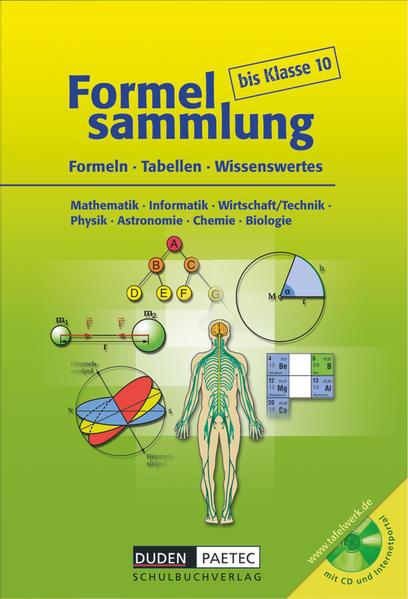 Formelsammlung bis Klasse 10 mit CD-ROM als Buch (gebunden)
