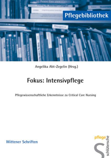 Fokus: Intensivpflege als Buch