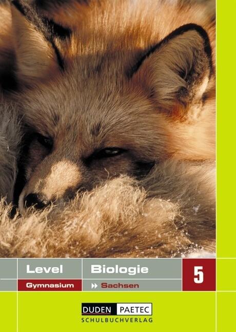 Lehrbuch Biologie Klasse 5 Sachsen. Level Gymnasium als Buch