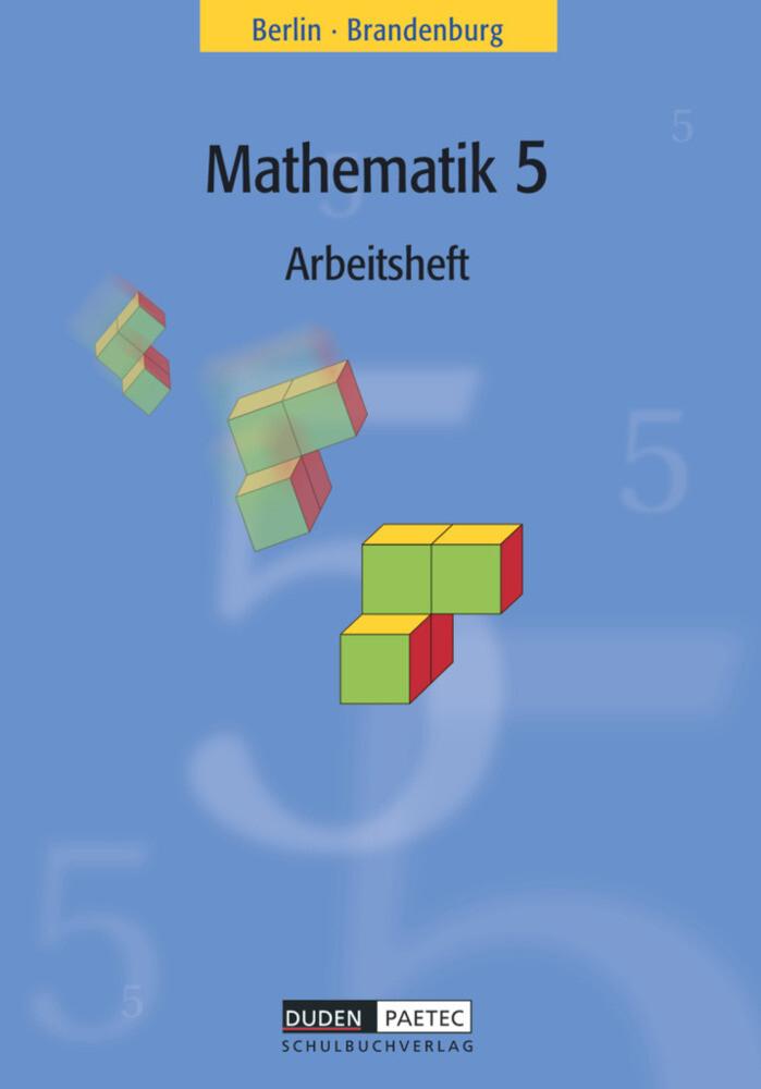 Mathematik 5. Arbeitsheft. Grundschule. Berlin, Brandenburg als Buch