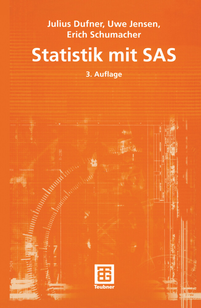 Statistik mit SAS als Buch