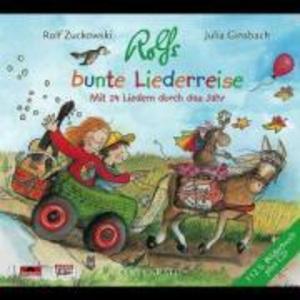 Rolfs bunte Liederreise. CD als Hörbuch
