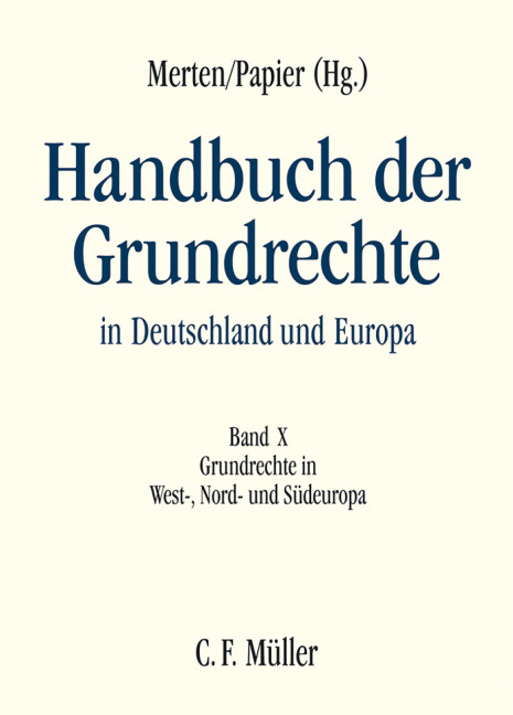Handbuch der Grundrechte in Deutschland und Europa 10 als Buch