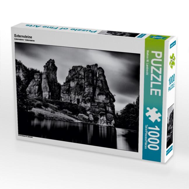 Externsteine 1000 Teile Puzzle quer