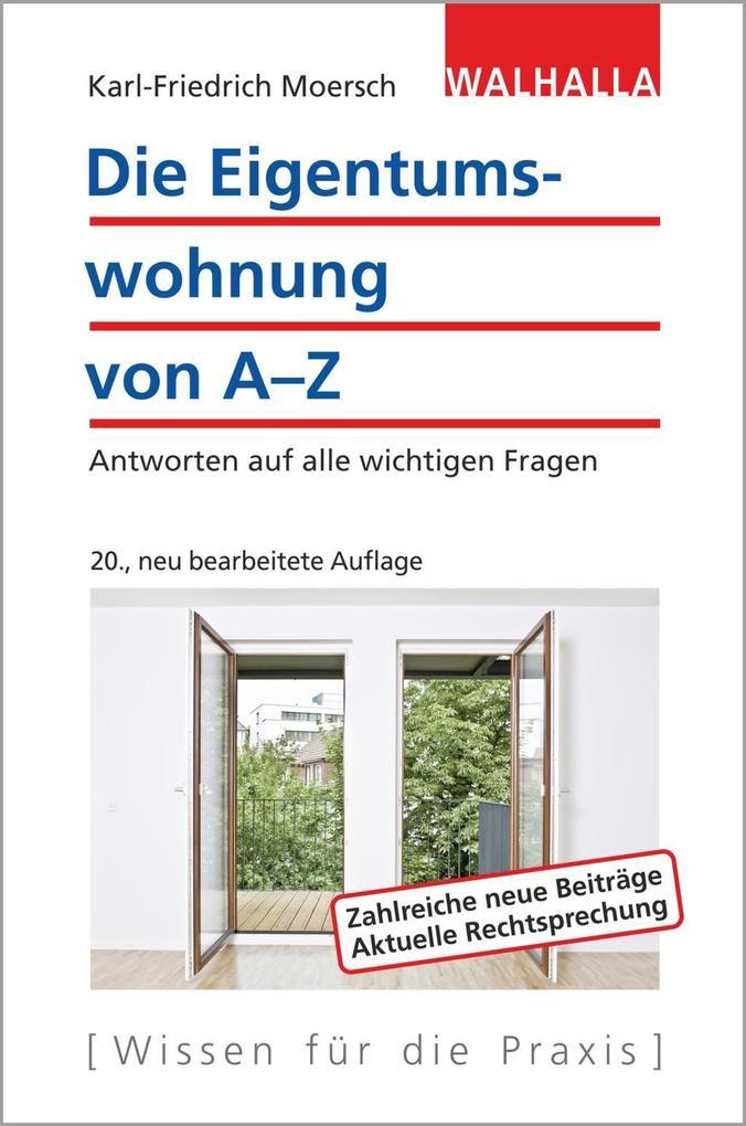 Die Eigentumswohnung von A-Z als eBook Download...