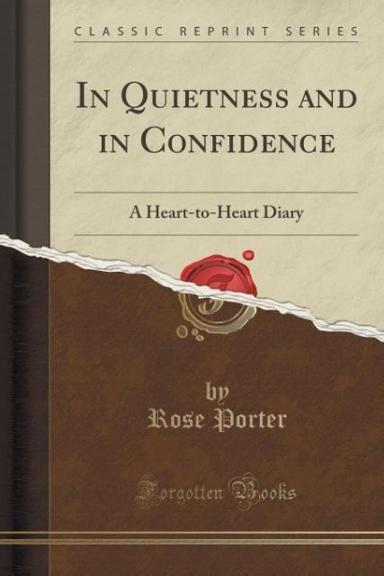 In Quietness and in Confidence als Taschenbuch ...