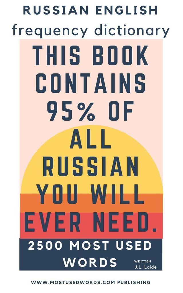 Russian English Frequency Dictionary - 2.500 Mo...