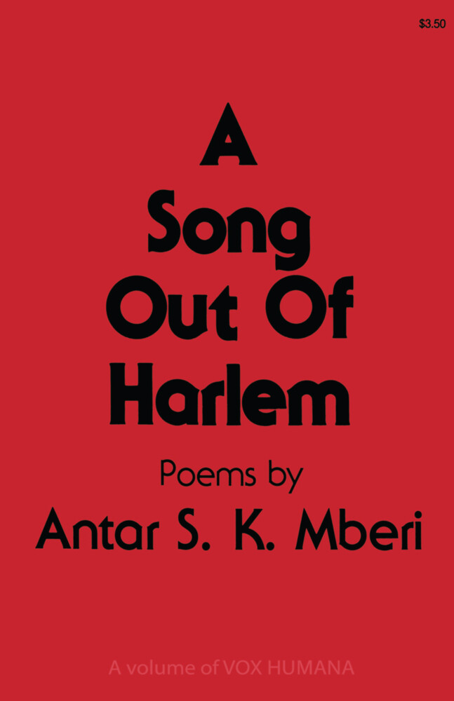 A Song Out of Harlem als Buch
