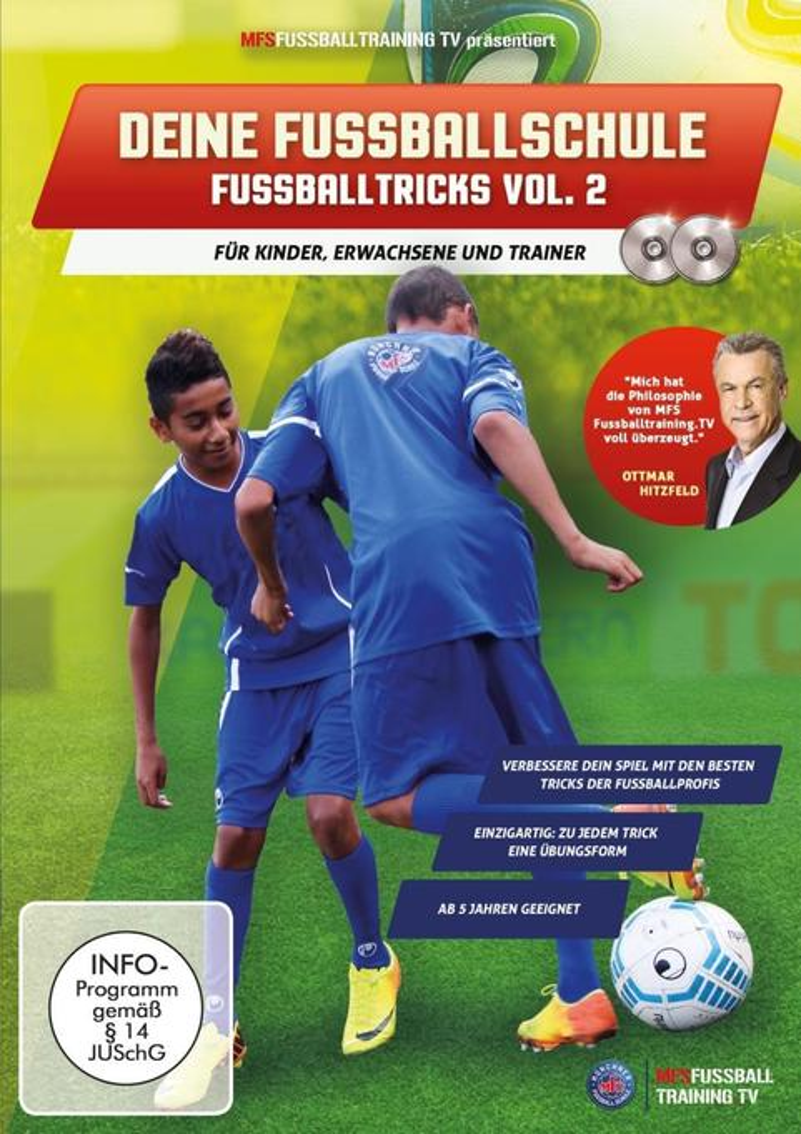 DEINE FUSSBALLSCHULE - Fussballtricks Vol. 2