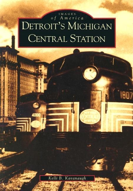 Detroit's Michigan Central Station als Taschenbuch