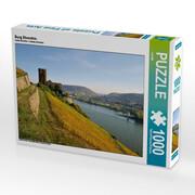 Burg Ehrenfels 1000 Teile Puzzle quer