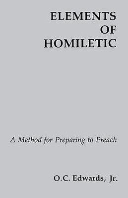 Elements of Homiletic als Taschenbuch