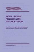 Natural Language Processing Using Very Large Corpora