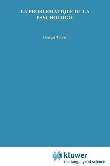 La problématique de la psychologie als Buch