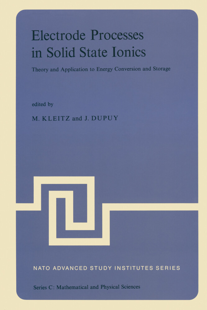 Electrode Processes in Solid State Ionics als Buch