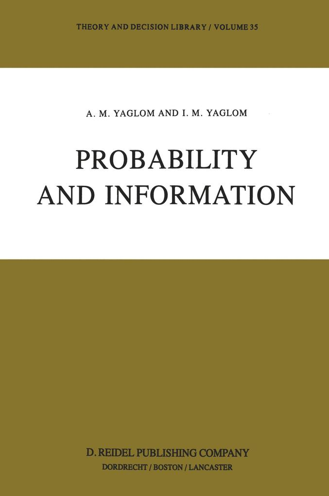 Probability and Information als Buch