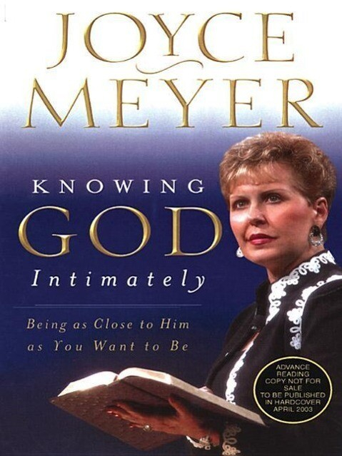 Knowing God Intimately: Being as Close to Him as You Want to Be als Taschenbuch