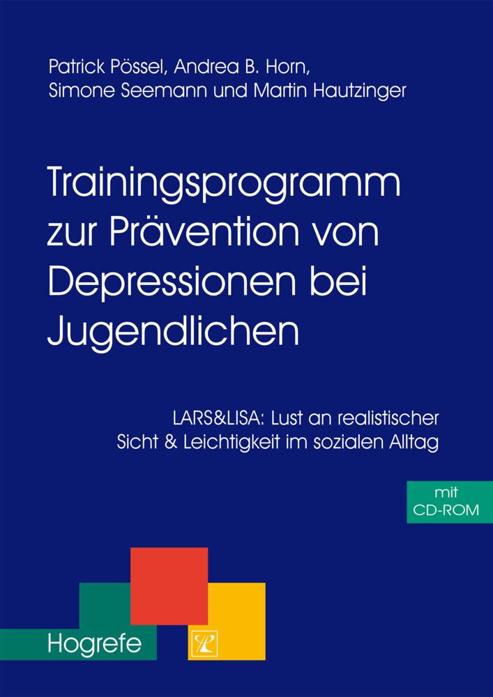Trainingsprogramm zur Prävention von Depression bei Jugendlichen. CD-ROM als Buch