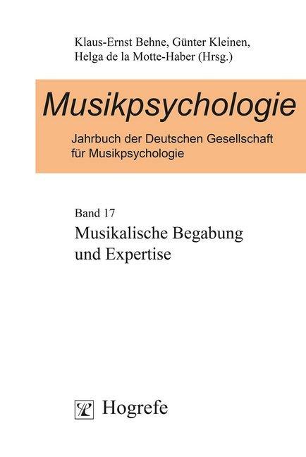 Jahrbuch der Musikpsychologie 17 als Buch