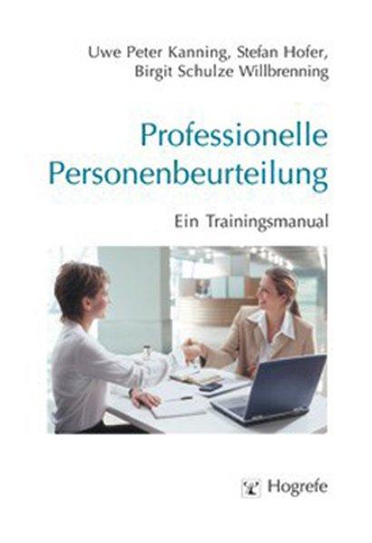 Professionelle Personenbeurteilung als Buch