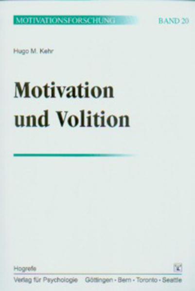 Motivation und Volition. (Bd. 20) als Buch